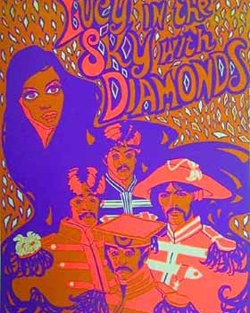 Canción del domingo: Lucy in the Sky with Diamonds (The Beatles)
