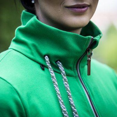 Gravidinlägg till Angelwings bärtröja - grön färgreferens