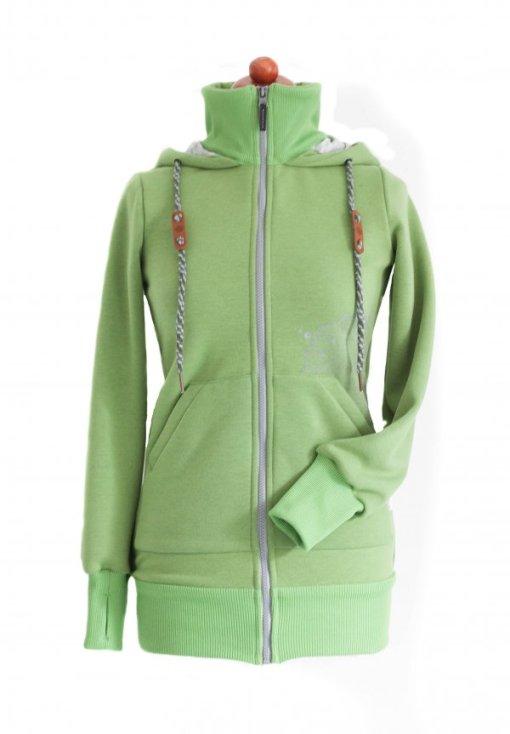 Angelwings grön hoodie - färgreferens