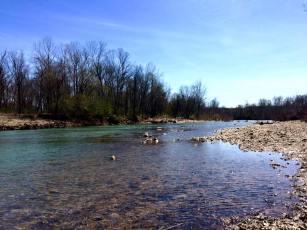 Archey Fork River in Clinton, AR