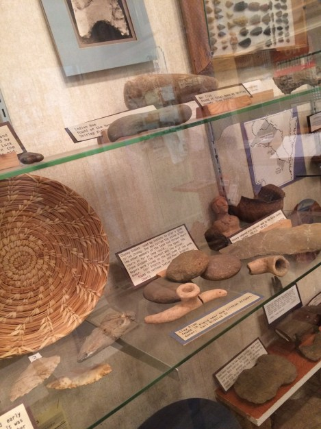 Native American artifacts in Clinton, AR - VBC Historical Society