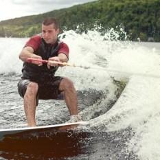 Wakeboarding Greers Ferry Lake