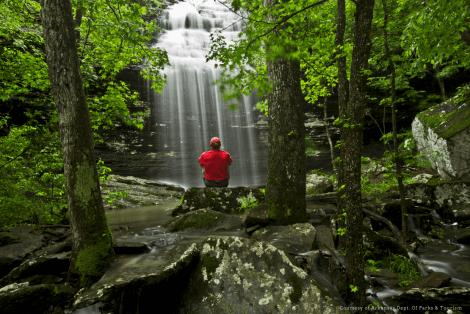 Heber Springs Bridal Veil Falls