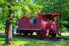 Riverside Park Searcy AR Train