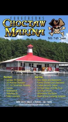 Choctaw Marina Ad