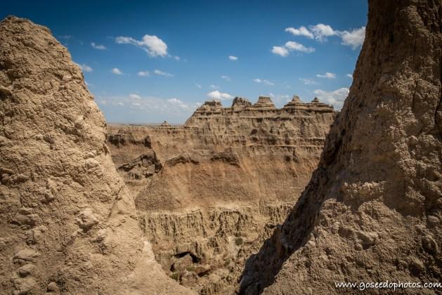 Badlands Window Formation