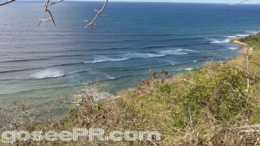 Surfers Beach In Aguadilla Puerto Rico Shot 4