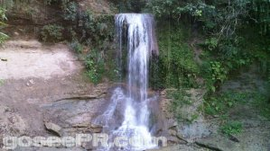 Salto Collazo Waterfall in San Sebastian Puerto Rico 1