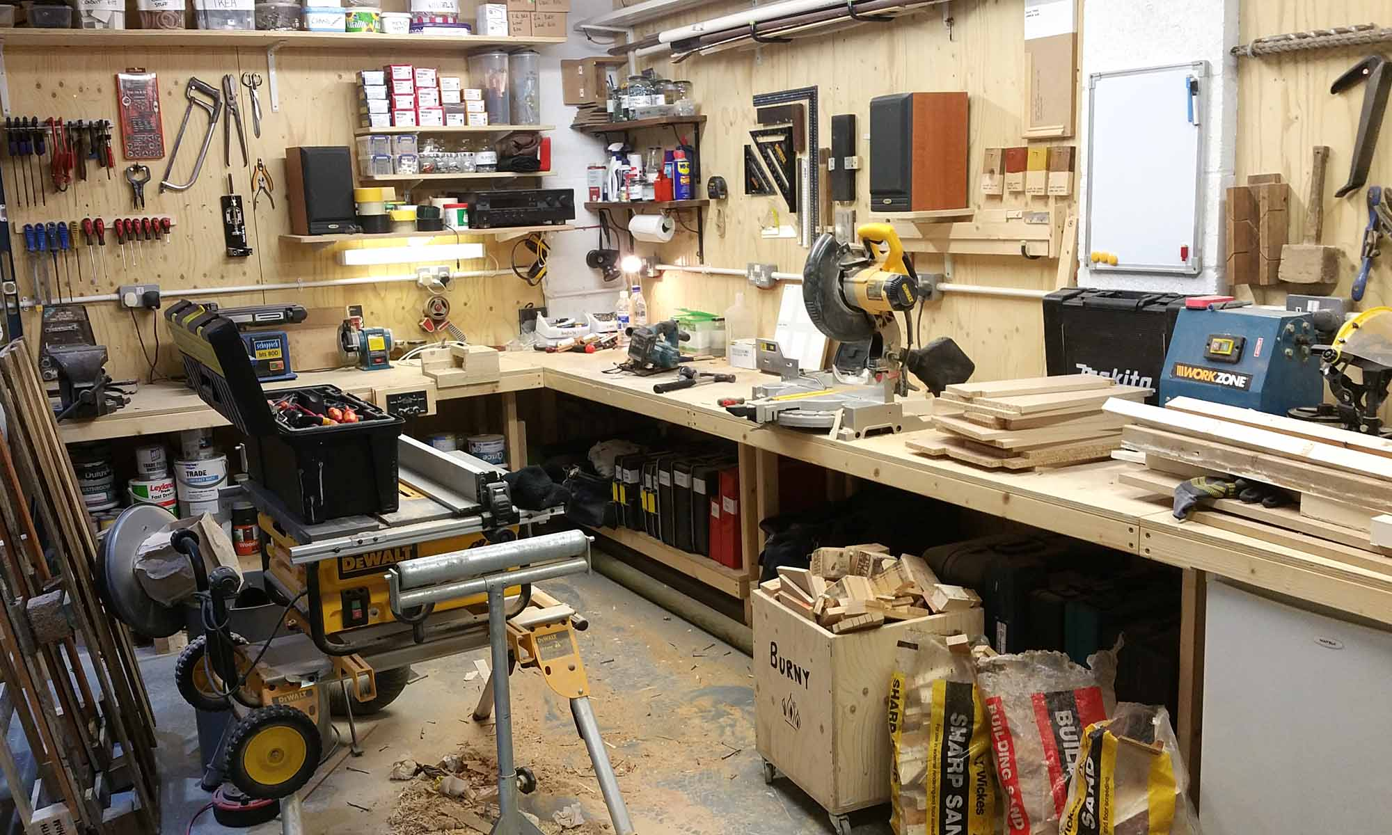 Small Workshop Tour