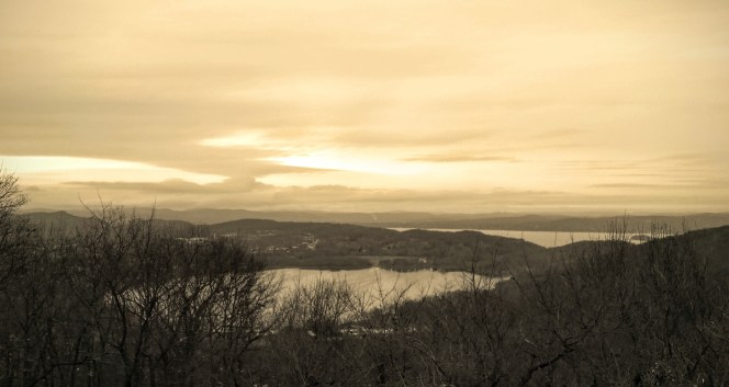 View from Hook Mountain