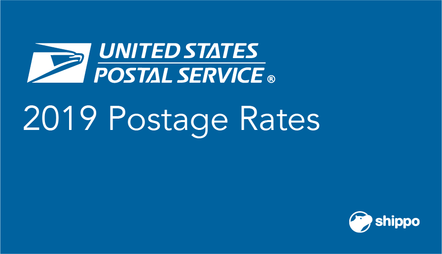 the 2019 usps postage