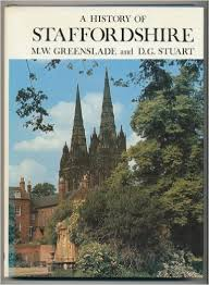 A History Of Staffordshire - Greenslade And Stuart BOOK