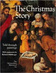 the-christmas-story-told-through-paintings-richard-muhlberger bookl