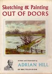 Sketching & Painting Out of Doors-Adrian Hill book