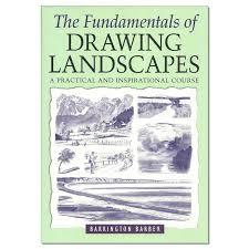 The Fundamentals of Drawing Landscapes-Barrington Barber book