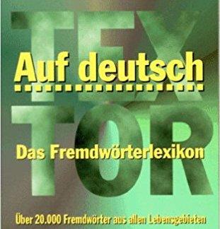 Auf Deutsch - A.M. Textor book