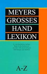Meyers Grosses Hand Lexikon - Wolfram Schwachulla book