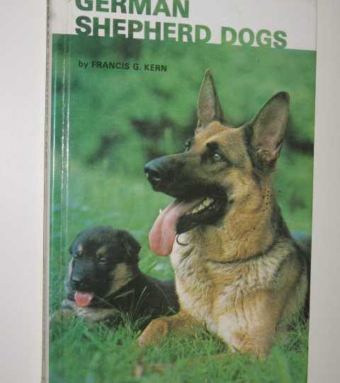 German Shepherd Dogs - Francis G. Kern book