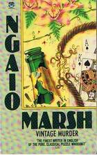 Vintage Murder - Ngaio Marsh book