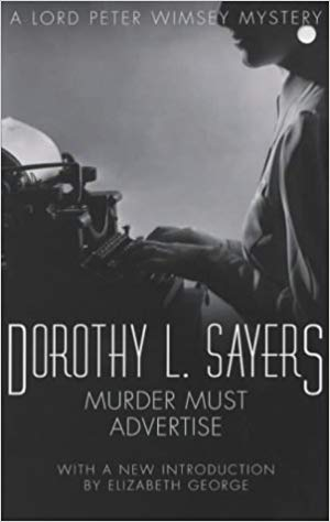 Murder Must Advertise - Dorothy L. Sayers book