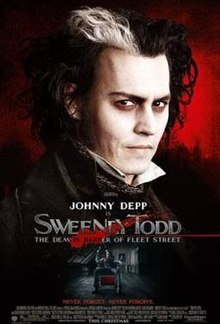 Sweeney Todd The Demon Barber Of Fleet Street DVD