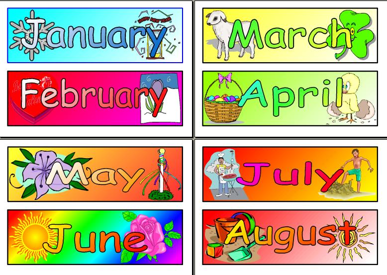 LET'S LEARN MONTHS OF THE YEAR