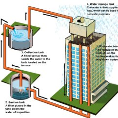 Green Roof Water Runoff Diagram Jvc Car Stereo Wiring Rain Harvesting - Why, Benefits, Techniques & More Go Smart Bricks