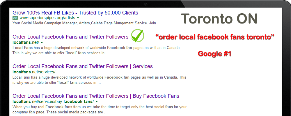 Top SEO company Toronto ON