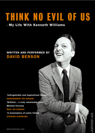 Think No Evil of Us - My Life With Kenneth Williams FLYER 2003 Design Peter Richardson