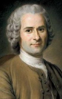 "Jean-Jacques Rousseau (June 28, 1712 – July 2, 1778) was a Franco-Swiss philosopher of the Enlightenment whose political ideas influenced the French Revolution, the development of socialist and democratic theory, and the growth of nationalism. His legacy as a radical and revolutionary is perhaps best described by the most famous line in his most famous book, The Social Contract: ""Man is born free, and everywhere he is in chains."" Rousseau's social contract theory, based on Thomas Hobbes and John Locke would serve as one of the bases of modern democracy, while his Emile would heavily influence modern education, and his Confessions would serve as a model for modern autobiography."