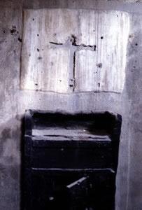 ポンペイ遺跡から発掘された二百年祭の家の十字架