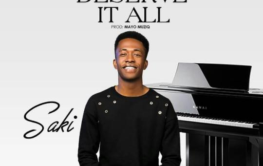 Music: Saki – You Deserve it
