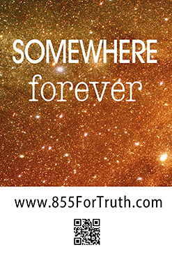 """""""Somewhere Forever"""" mall message"""