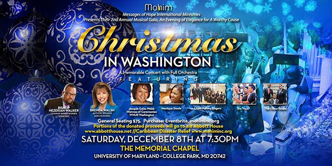 2nd Annual Messages of Hope Musical Gala: An Evening of