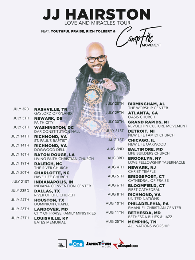 jj harrison tour 2019