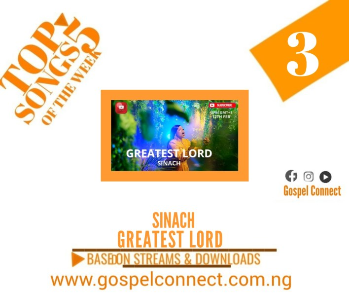 Greatest Lord by Sinach