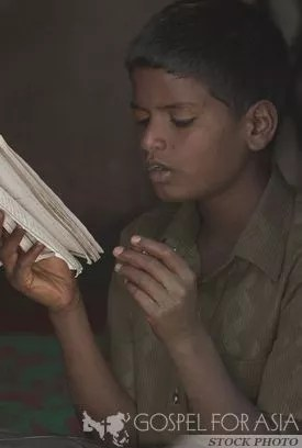 Rohak asked his son to start reading the Bible out loud for him.