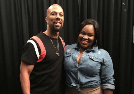 tasha cobbs and common at the 2015 global fusion festival