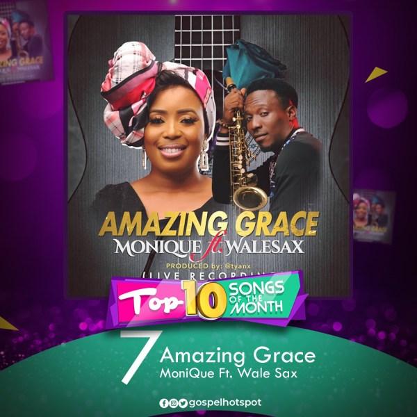 Amazing Grace – MoniQue Ft. Wale Sax
