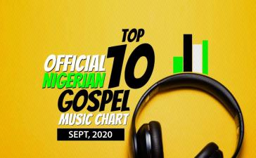 IACMP Nigeria Gospel Music Top 10 Chart [September 2020