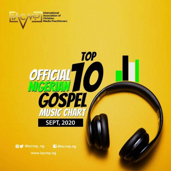 IACMP Nigeria Gospel Music Top 10 Chart [September 2020