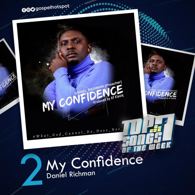 My Confidence – Daniel Richman