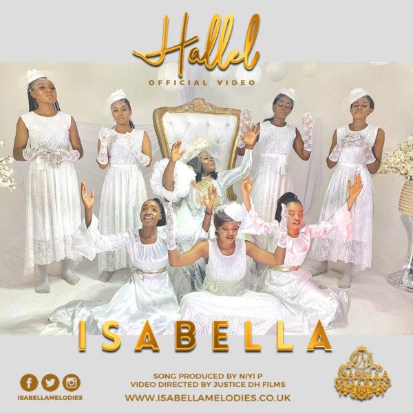 """Isabella-Melodies-Hallel [Video] Isabella Melodies – """"Hallel"""""""