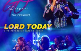 Toluwanimee – Lord Today [Live]