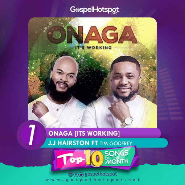 Top 10 Nigerian Gospel Songs Of The Month | April 2019