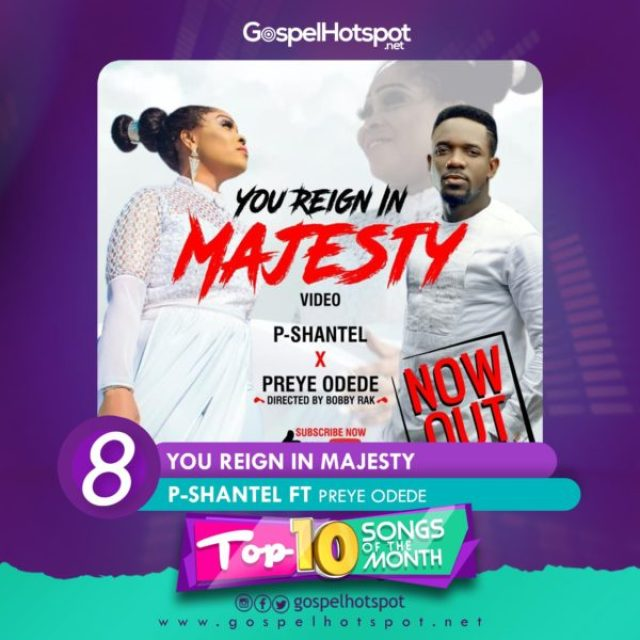 P-Shantel Ft. Preye Odede – You Reign In Majesty