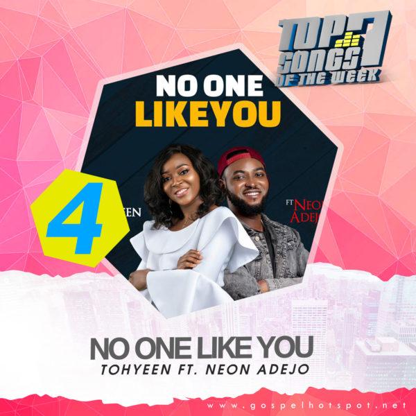 Tohyeen Ft. Neon Adejo – No One Like You