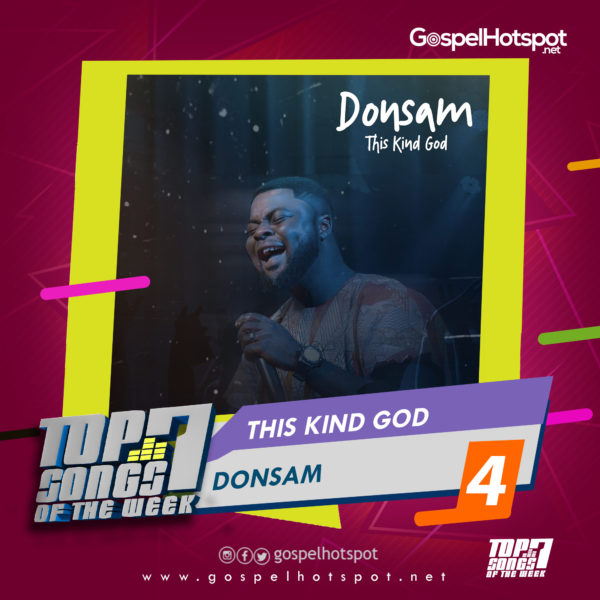 Donsam – This Kind God