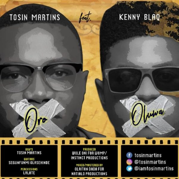 "Tosin-Martins-Ft.-Kenny-Blaq-%E2%80%93-Oro-Oluwa [DOWNLOAD MP3] Tosin Martins Ft. Kenny Blaq – ""Oro Oluwa"""