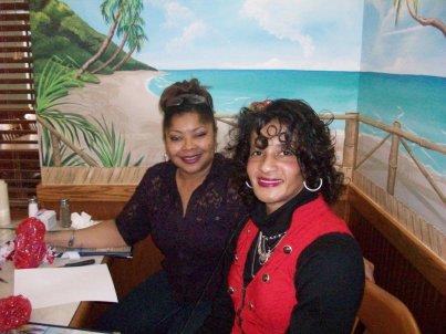 Lisa Moorman and Angela Williams